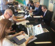Nel Palazzo della Regione a Bologna si è tenuta la prima Conferenza Stampa per presentare la 7ª Borsa del Turismo Fluviale e del Po
