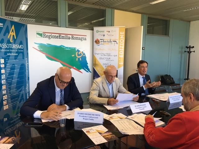 Presentata a Bologna l'ottava edizione della Borsa del Turismo Fluviale e del fiume Po