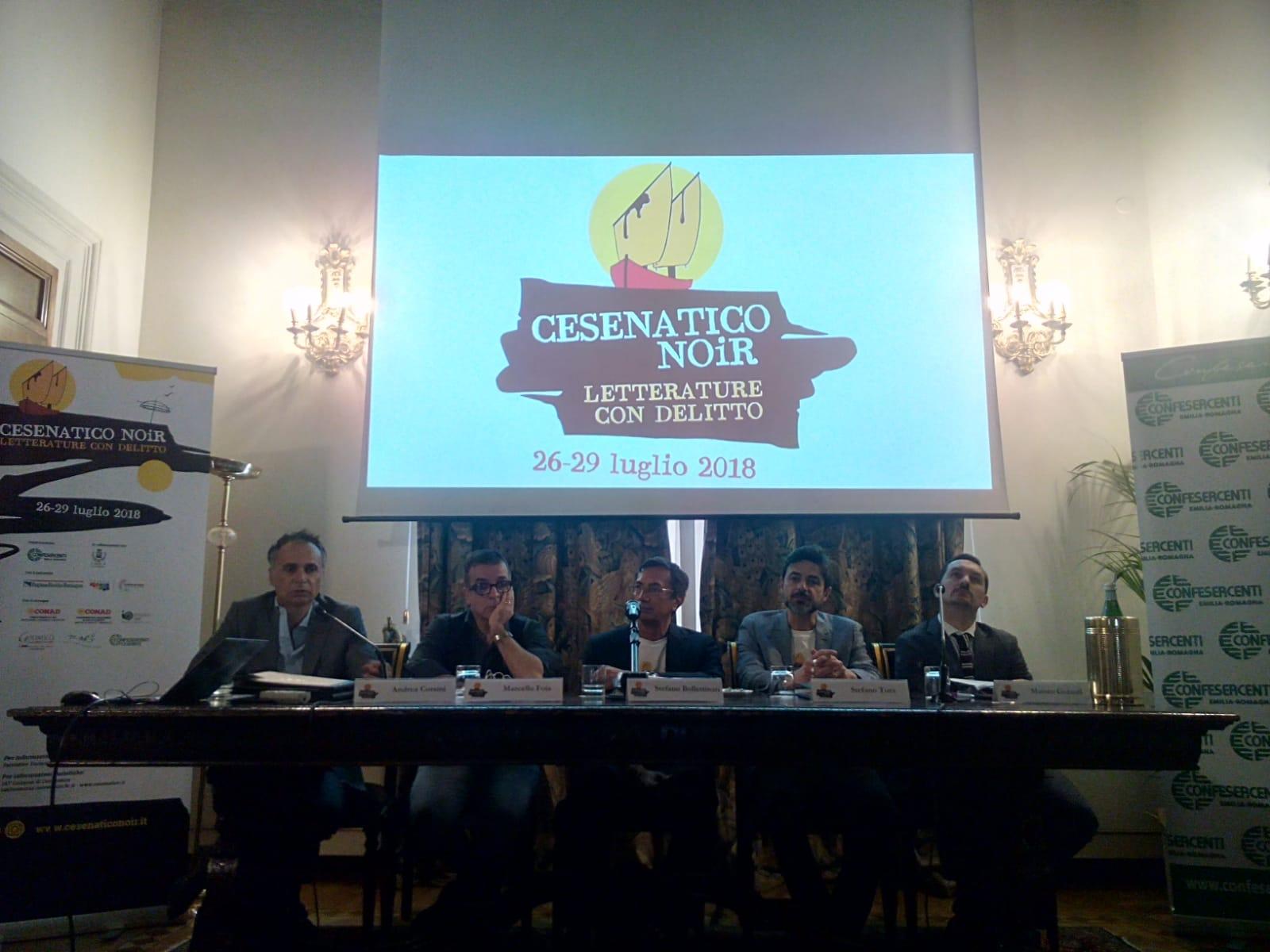 Cesenatico in luglio si tinge di giallo con Björn Larsson e 13 fra i migliori autori italiani del genere