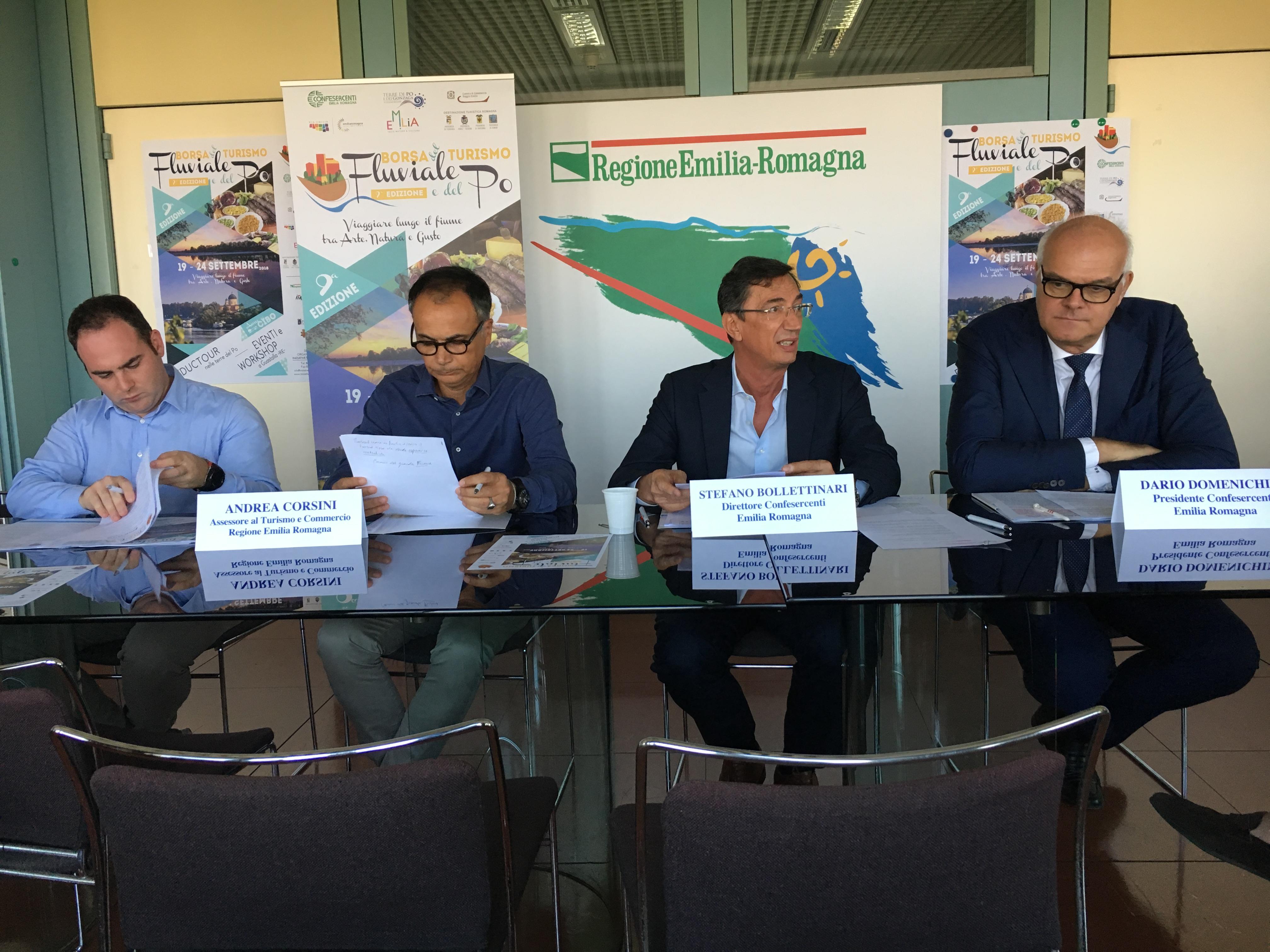"""La risorsa turistica del Fiume Po in vetrina: a Guastalla la 9a """"Borsa del Turismo Fluviale"""""""
