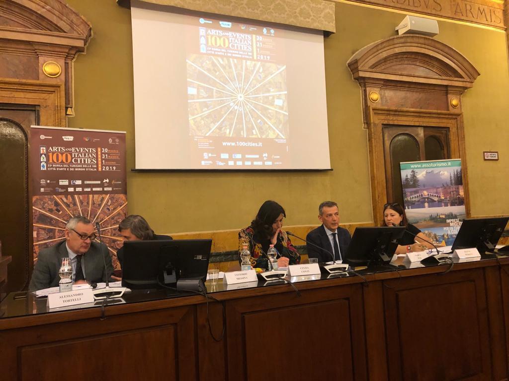 Presentata a Roma la 23ª Borsa del Turismo delle 100 Città d'Arte e dei Borghi d'Italia
